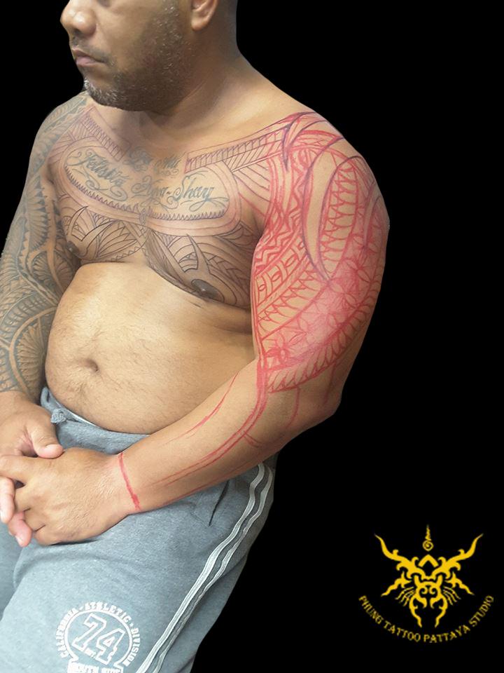 Maori_Arm_Stencil_tattoo
